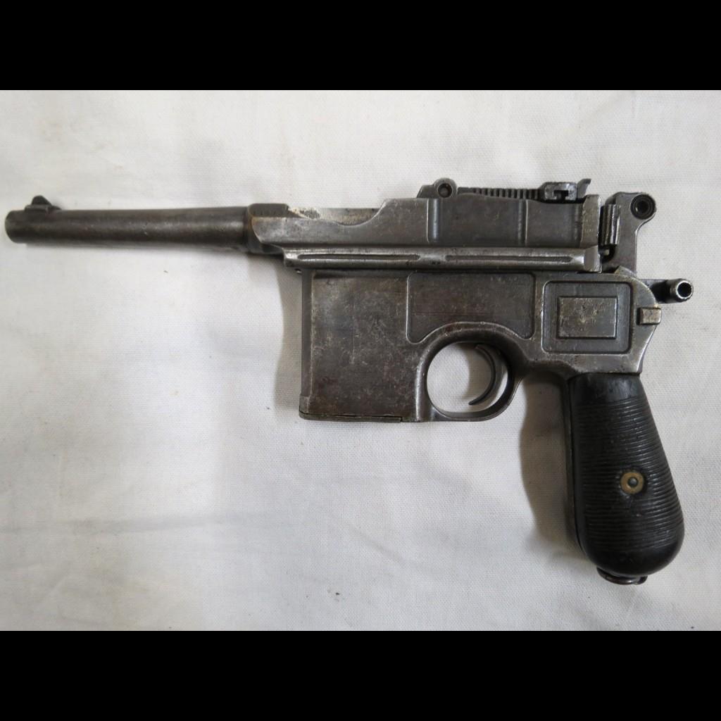 pistolet mauser c96 calibre 9 mm