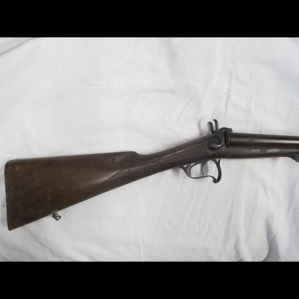 eaff3926832 Fusil de chasse juxtaposé à broche calibre 16